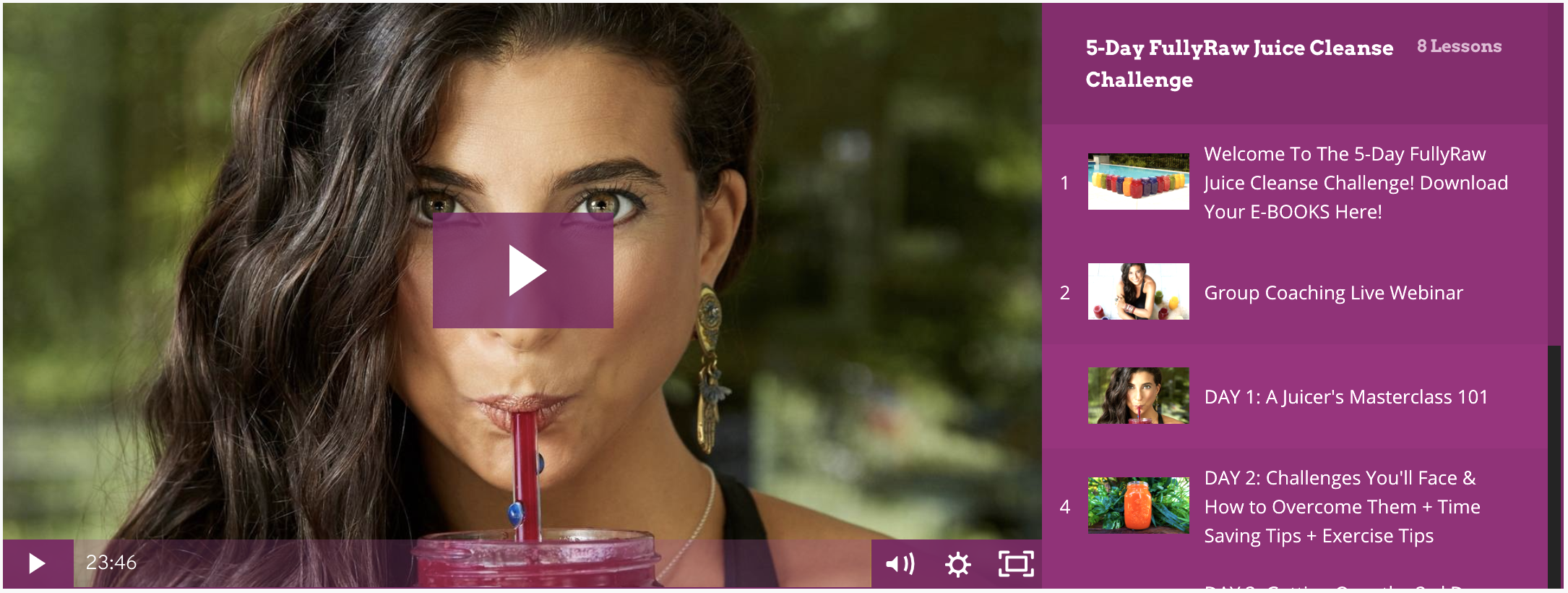 Join The Fullyraw 5 Day Juice Cleanse Challenge
